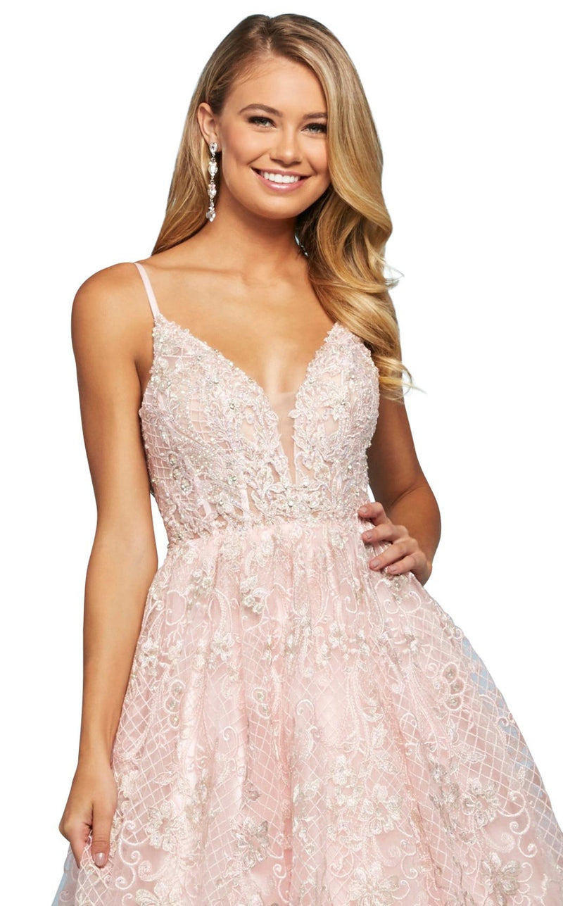 Sherri Hill 53625 Dress Pink