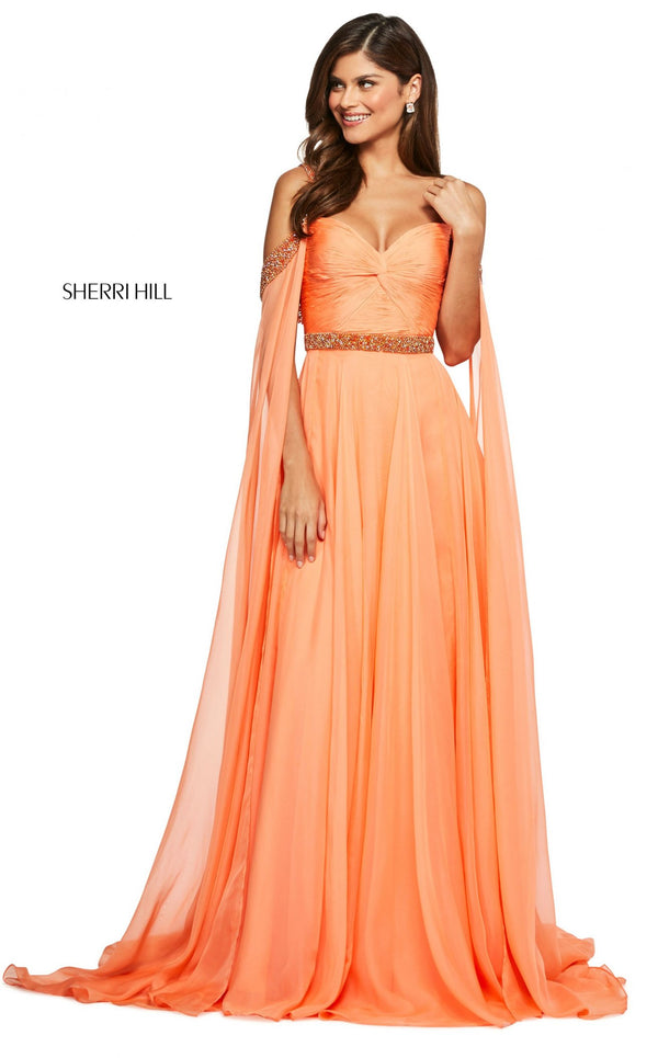 Sherri Hill 53630 Dress Dreamcicle