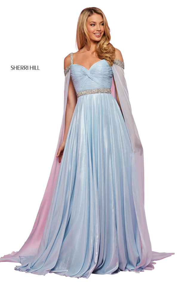 Sherri Hill 53630 Dress Light-Blue