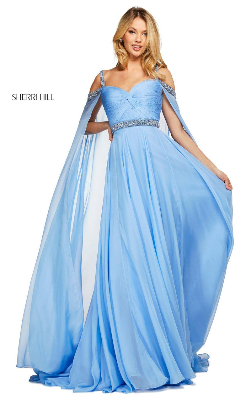Sherri Hill 53630 Dress Periwinkle