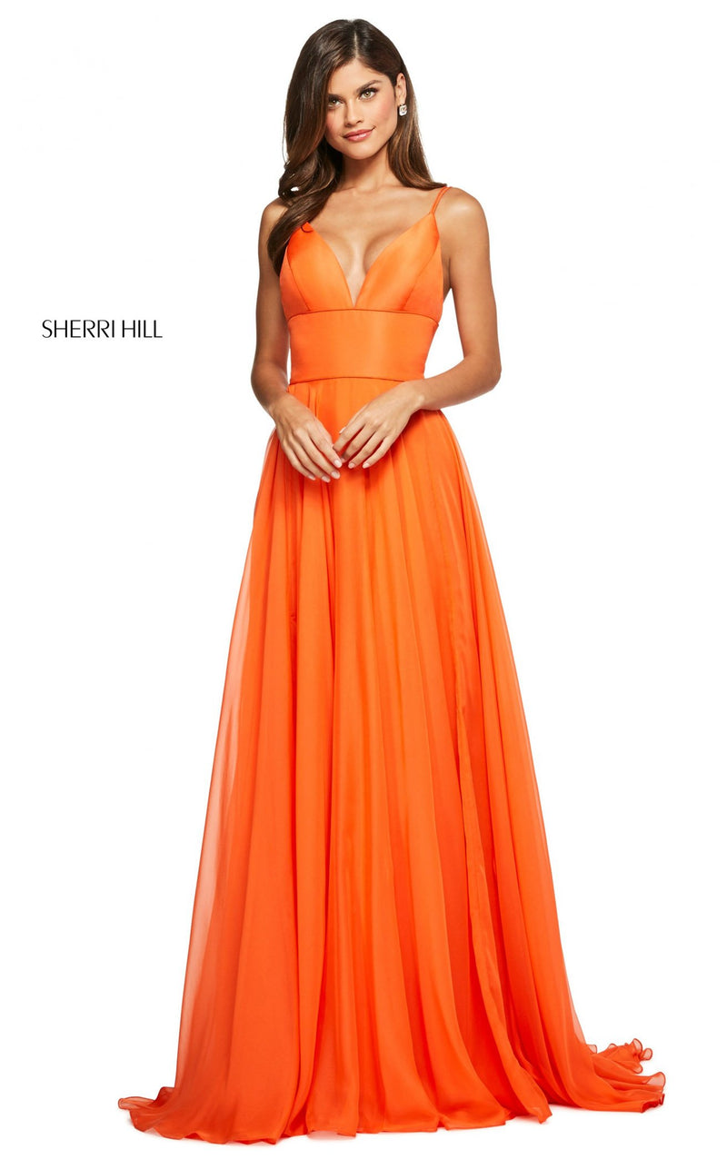 Sherri Hill 53634 Dress Orange