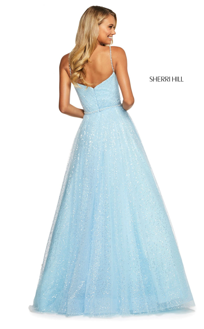 Sherri Hill 53637 Dress Light-Blue