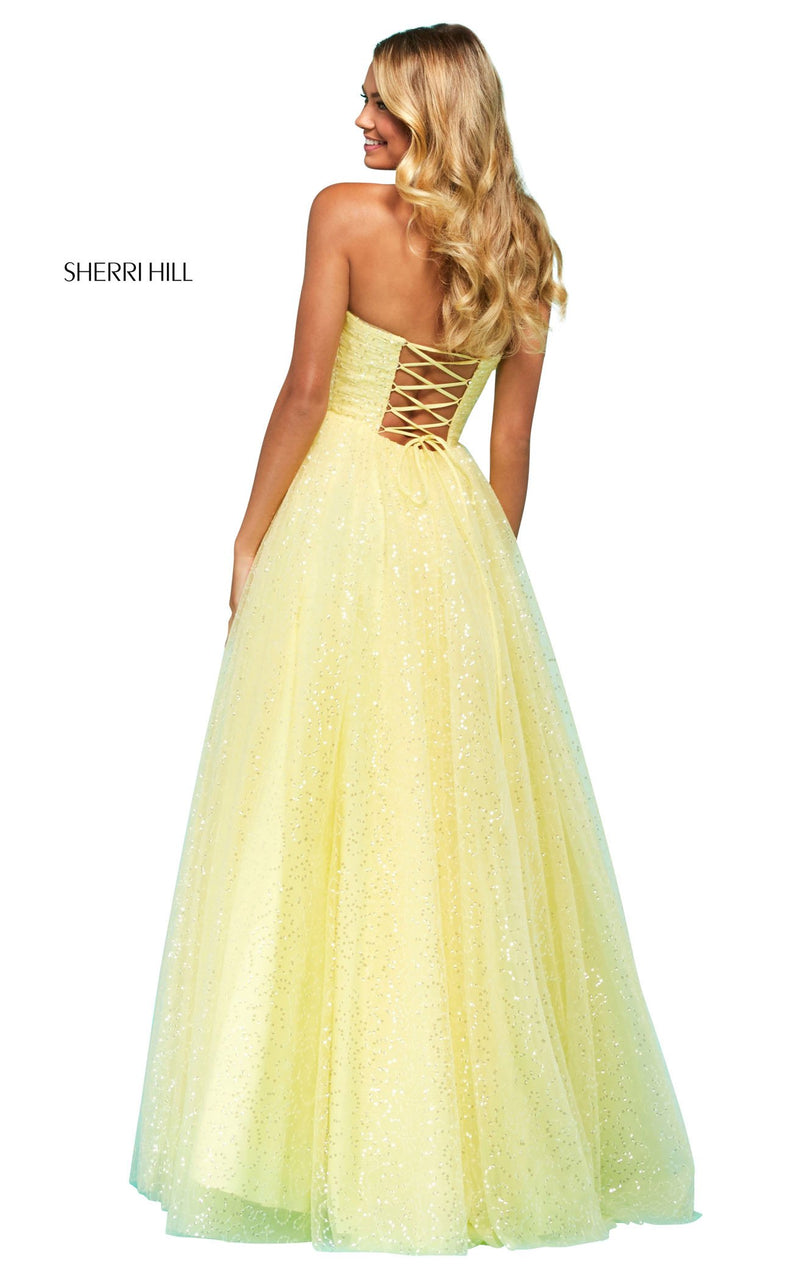 Sherri Hill 53638 Dress Yellow