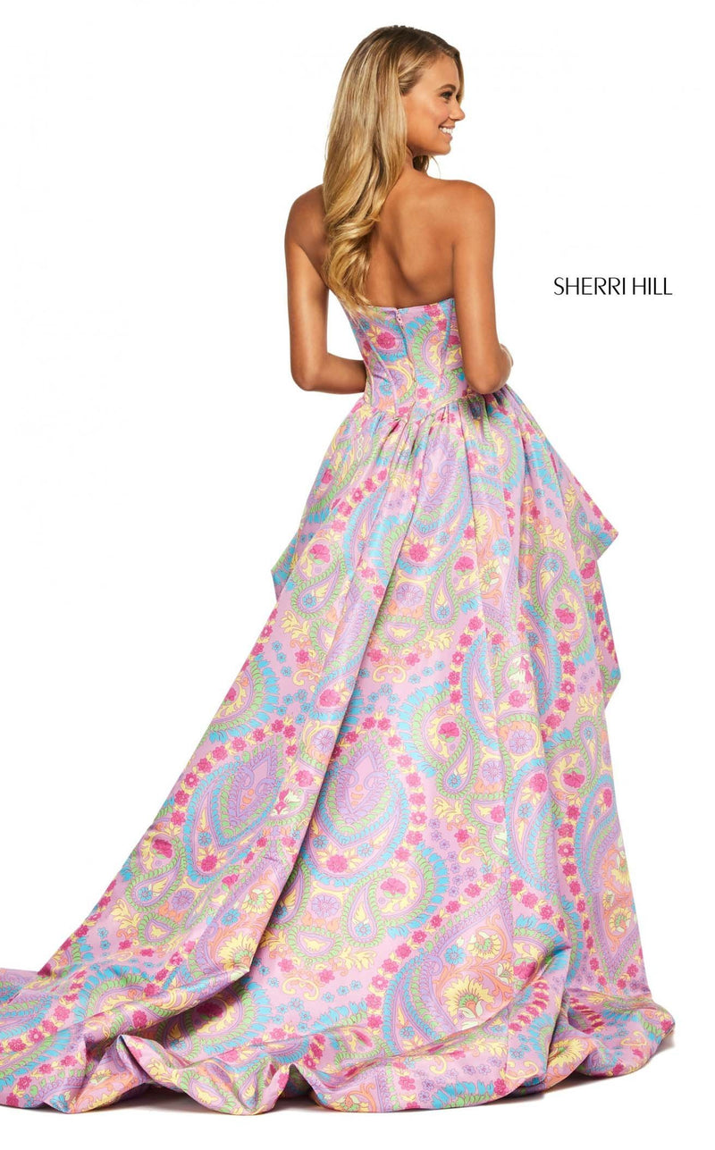Sherri Hill 53643 Dress Lilac-Print