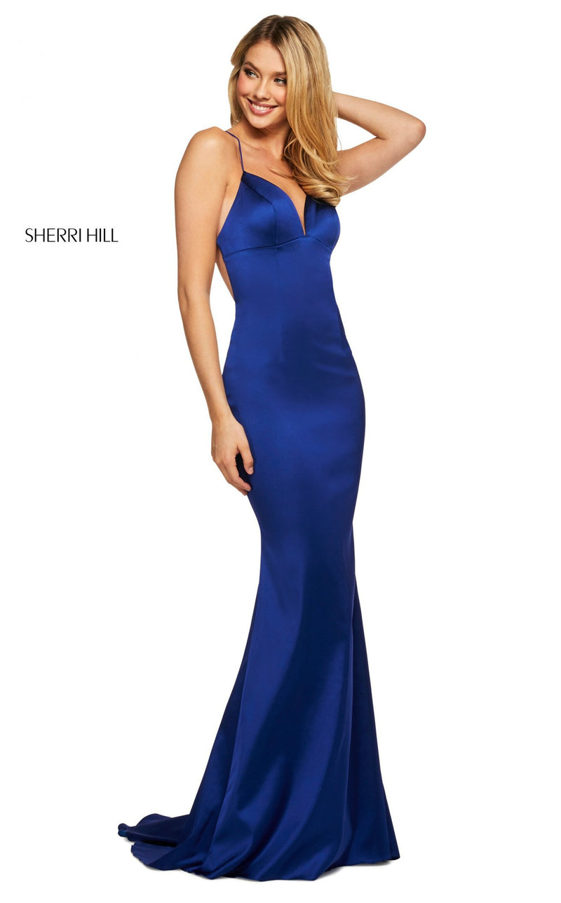Sherri Hill 53647 Dress Royal