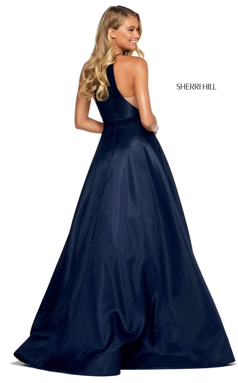Sherri Hill 53659 Dress Navy