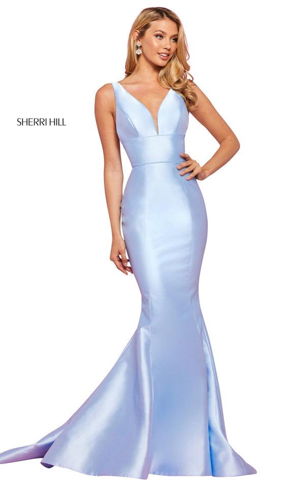 Sherri Hill 53660 Dress Light-Blue