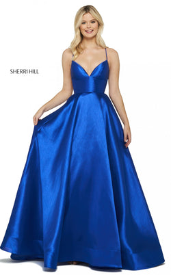 Sherri Hill 53661 Dress Royal