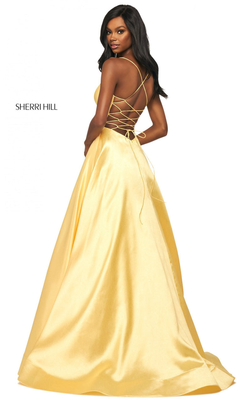 Sherri Hill 53661 Dress Yellow
