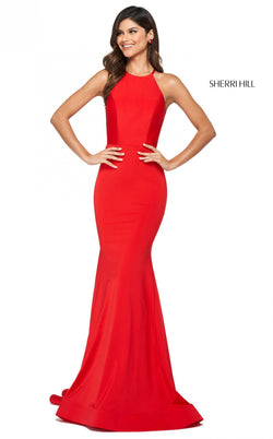Sherri Hill 53663 Dress red