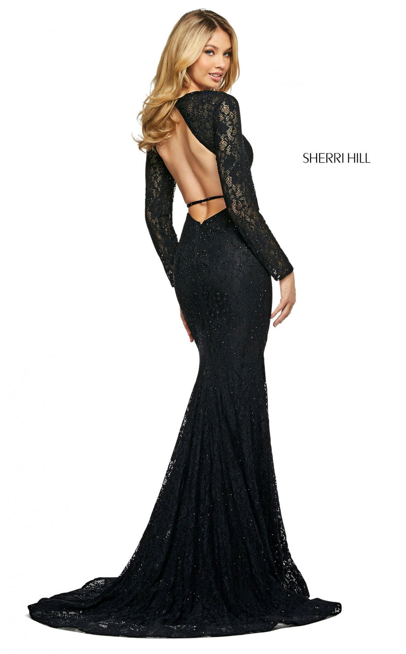 Sherri Hill 53682 Dress Black