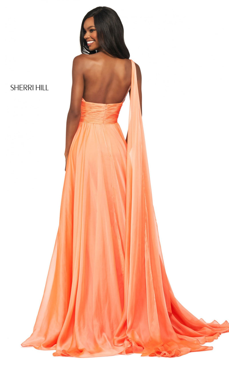 Sherri Hill 53698 Dress Dreamcicle