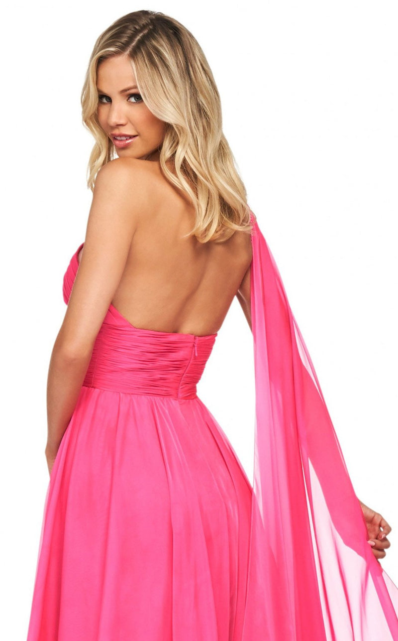 Sherri Hill 53698 Dress Fuchsia