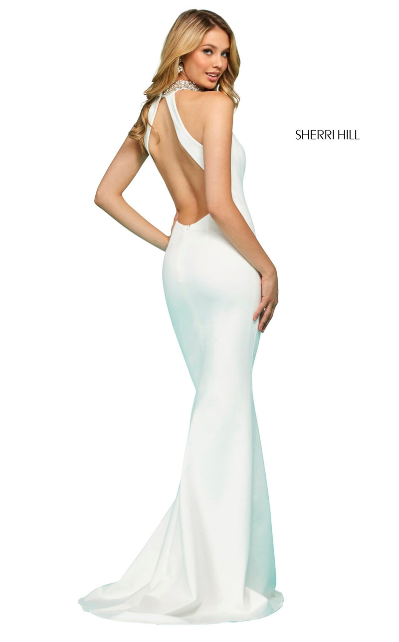 Sherri Hill 53718 Dress Ivory