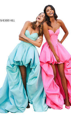 Sherri Hill 53719 Dress Aqua