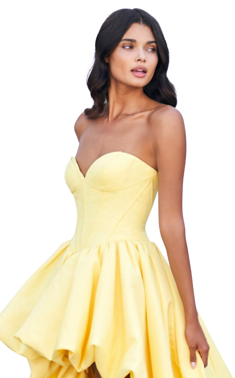 Sherri Hill 53719 Dress Yellow