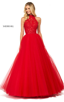 Sherri Hill 53727 Dress Red