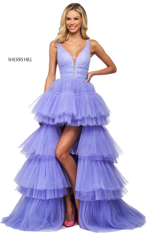 Sherri Hill 53733 Dress Lilac
