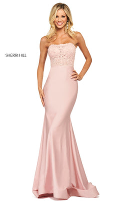 Sherri Hill 53751 Dress Blush