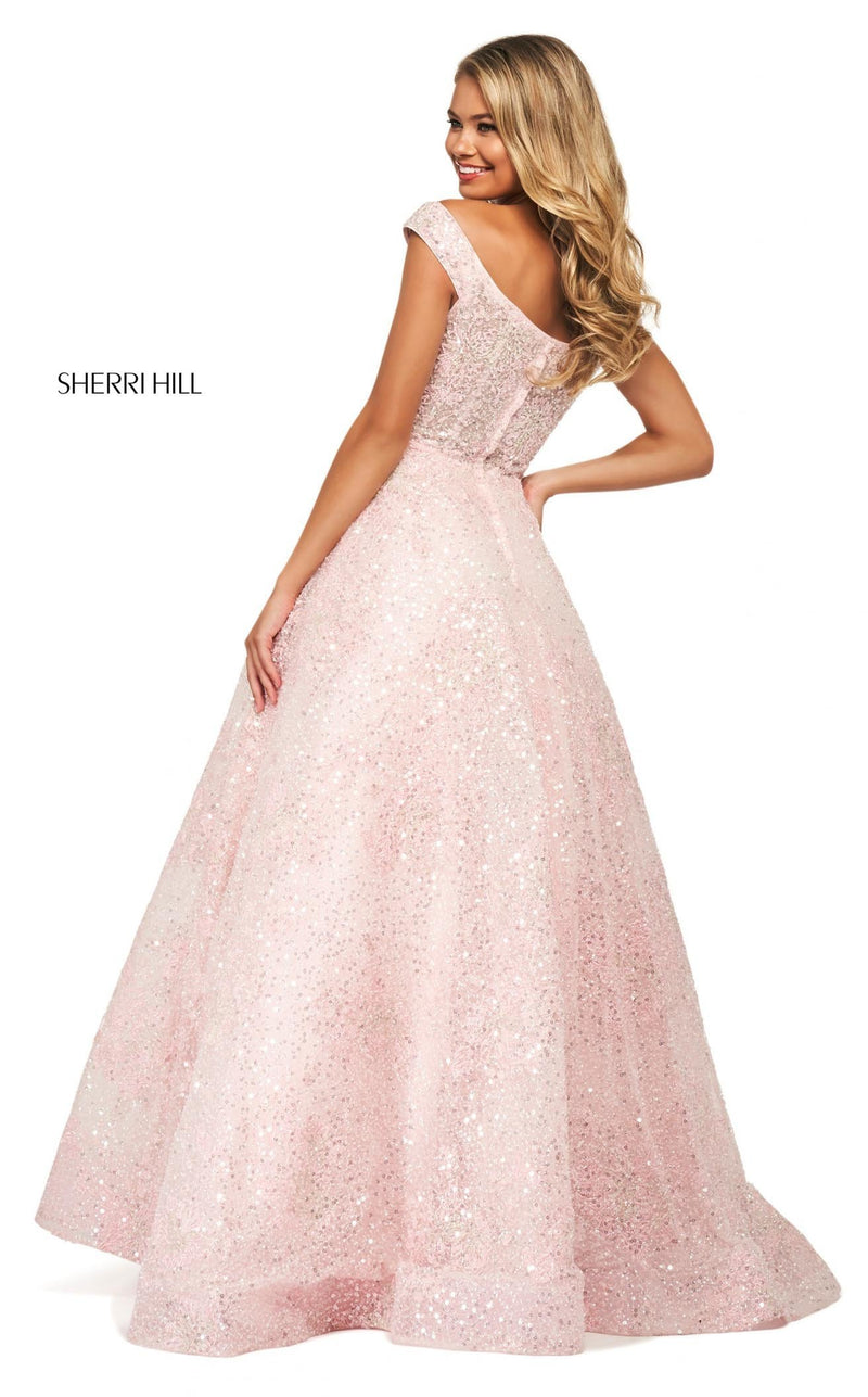 Sherri Hill 53758 Dress Blush