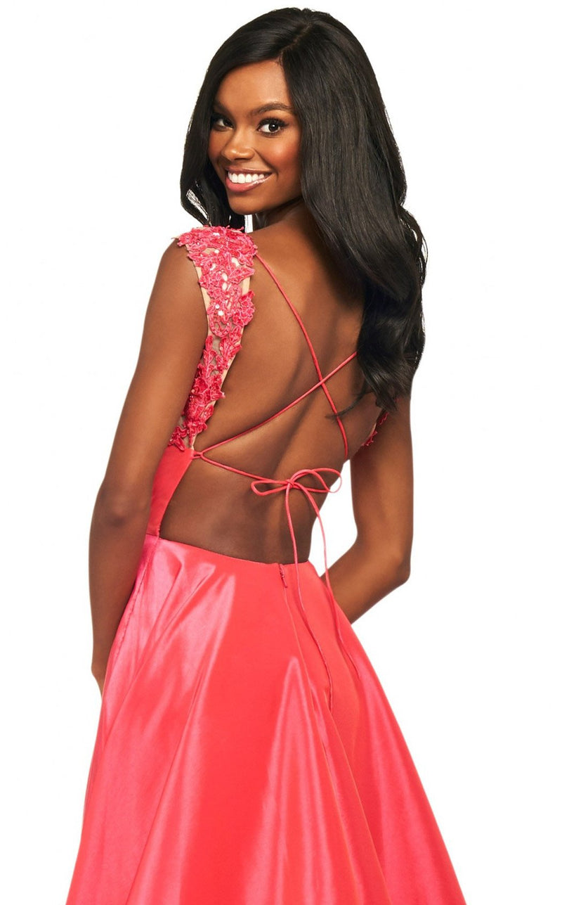 Sherri Hill 53767 Dress Coral