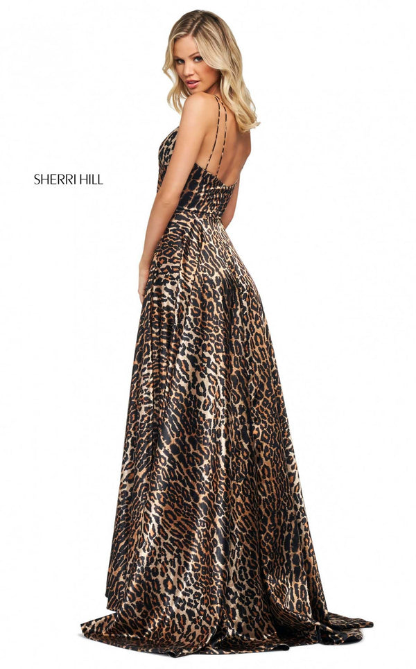 Sherri Hill 53772 Dress Animal