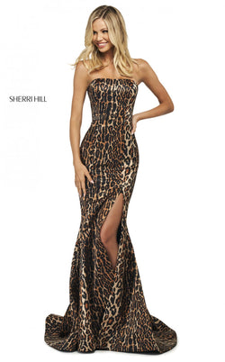 Sherri Hill 53773 Dress Animal