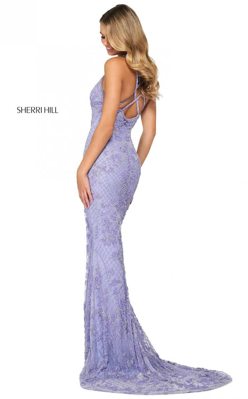 Sherri Hill 53788 Dress Periwinkle