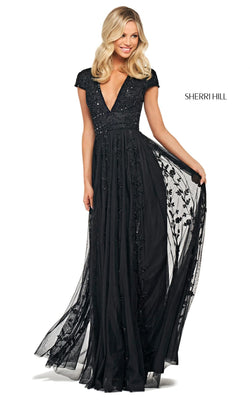 Sherri Hill 53815 Dress Black