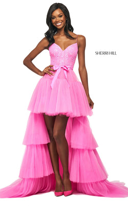 Sherri Hill 53820 Dress Candy-Pink