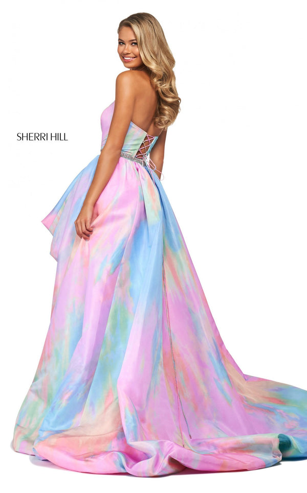 Sherri Hill 53821 Dress Multi-Print