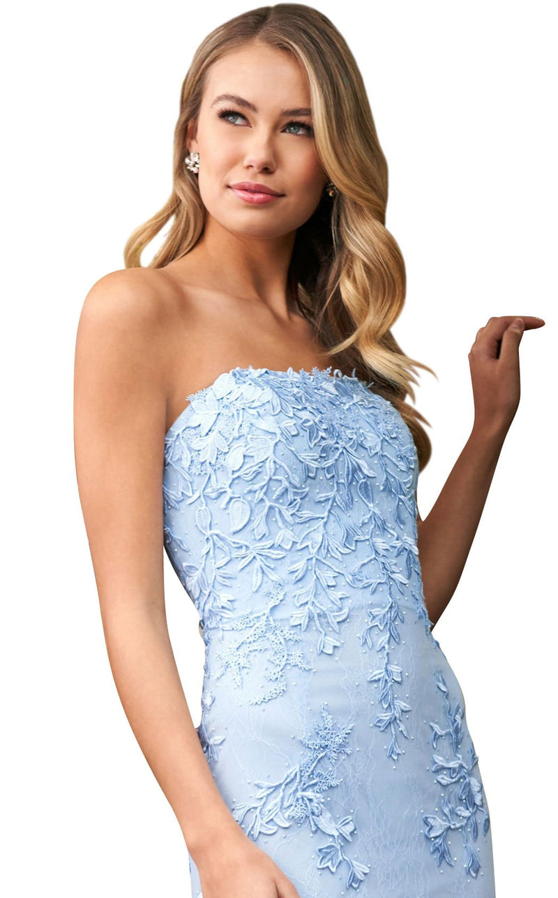 Sherri Hill 53849 Dress Light-Blue