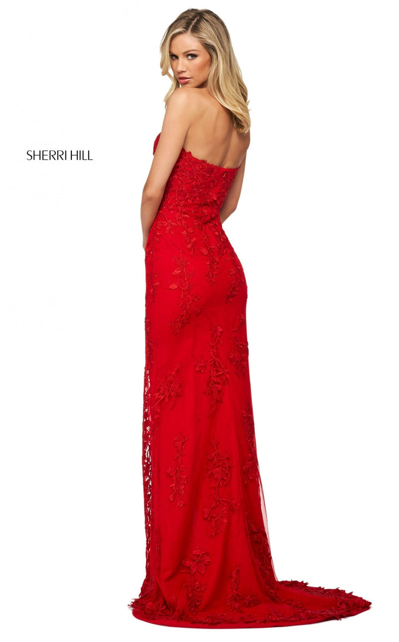 Sherri Hill 53849 Dress Red