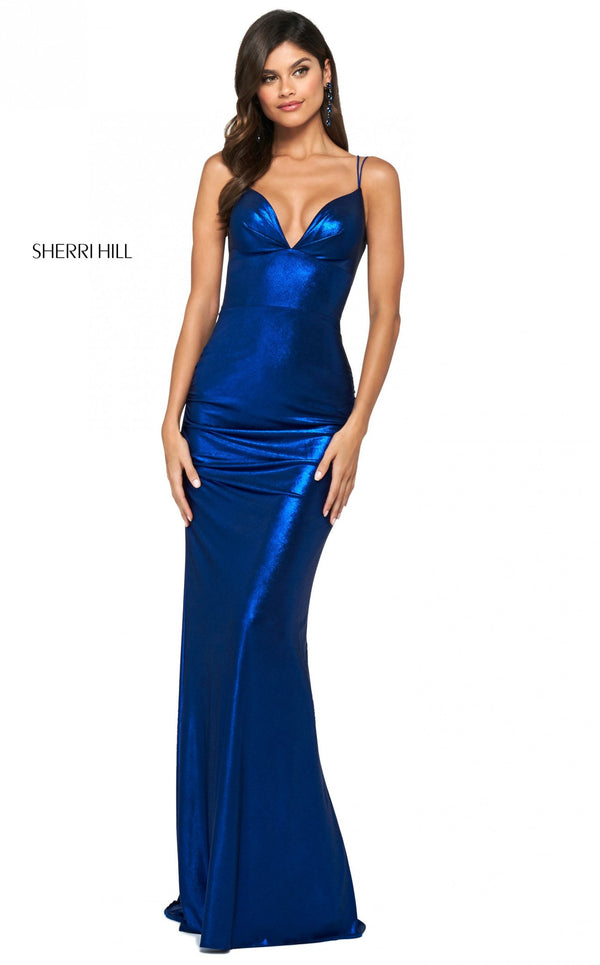 Sherri Hill 53874 Dress Royal