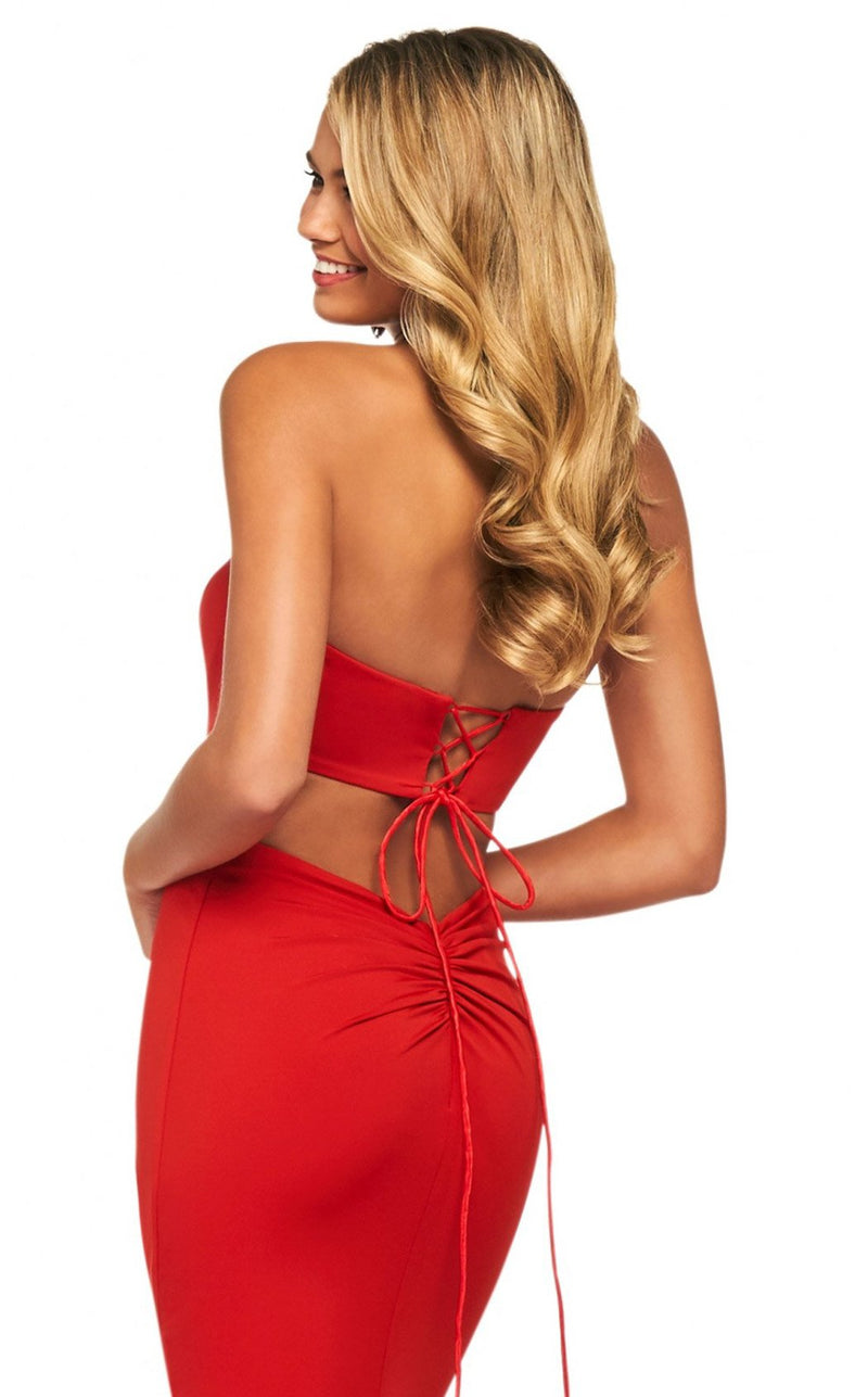 Sherri Hill 53877 Dress Red