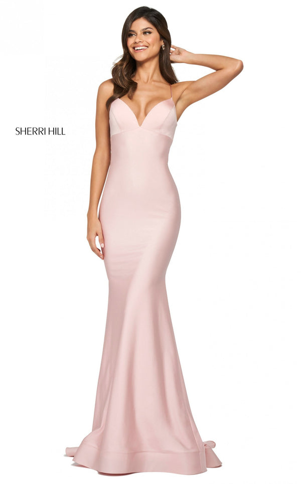 Sherri Hill 53879 Dress Blush