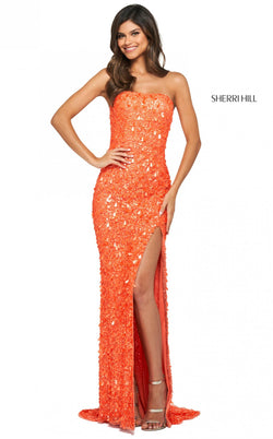 Sherri Hill 53891 Dress Orange