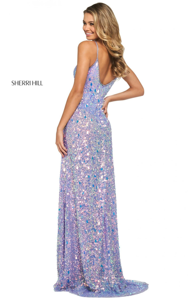 Sherri Hill 53893 Dress Lilac