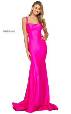 Sherri Hill 53906 Dress Fuchsia