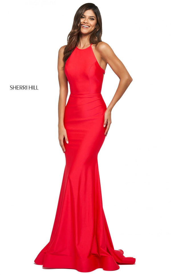 Sherri Hill 53907 Dress Red