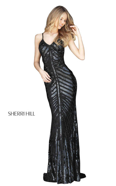 Sherri Hill 51206 Black