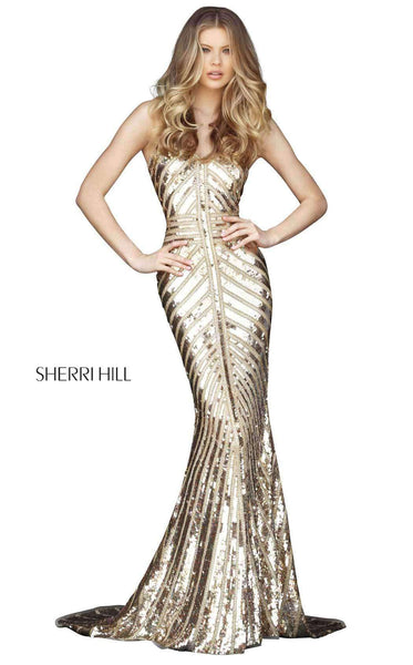 Sherri Hill 51206 Gold