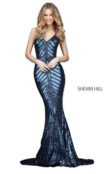 Sherri Hill 51206 Navy