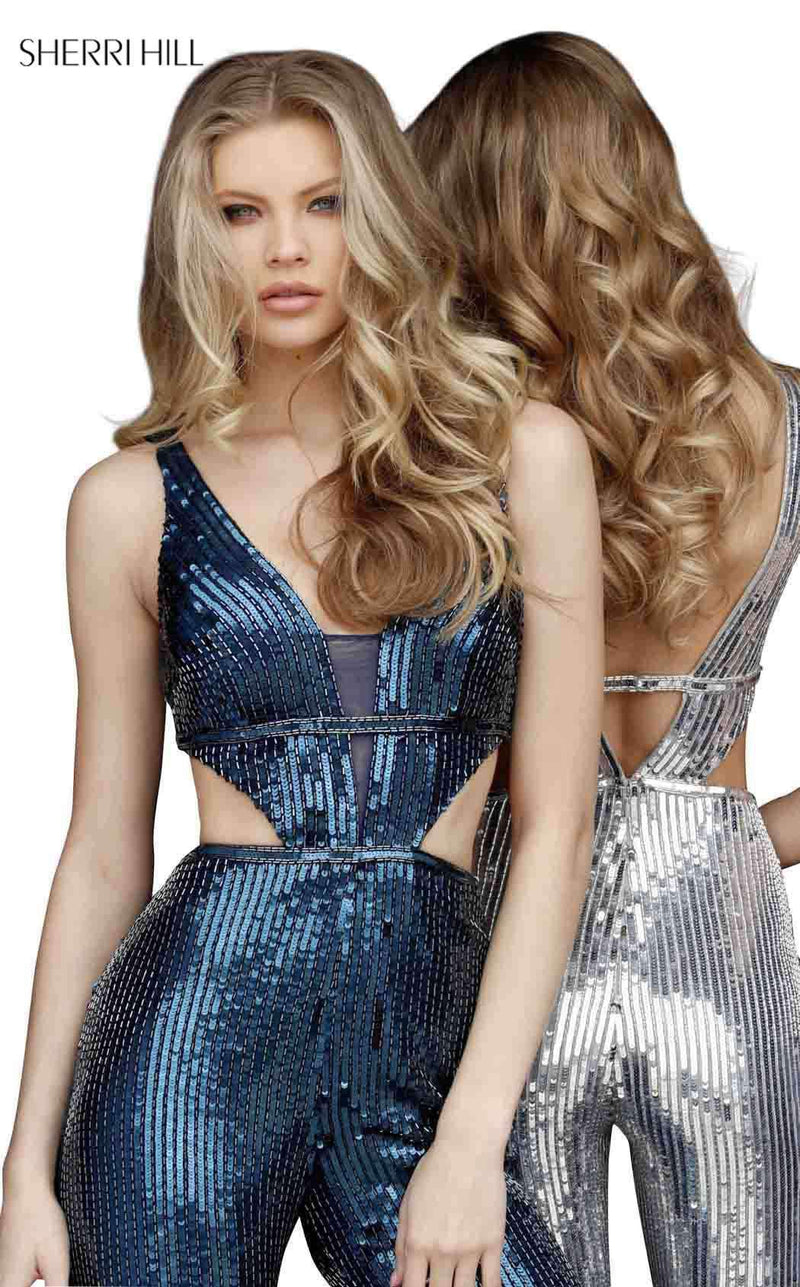 Sherri Hill 51350CL Jumpsuit