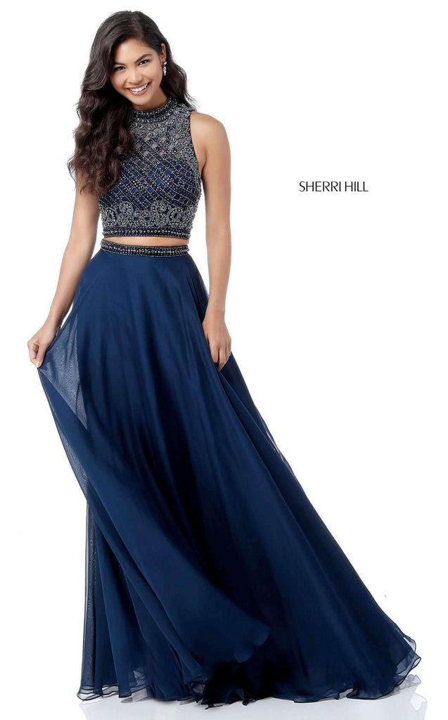 Two-Piece Evening Gown by Sherri Hill: model 51724 | NewYorkDress ...