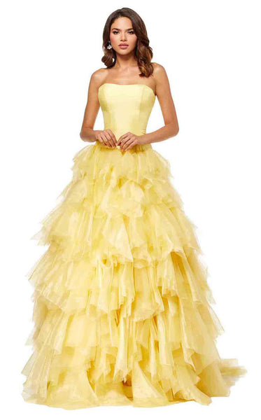 Sherri Hill 52417 Yellow