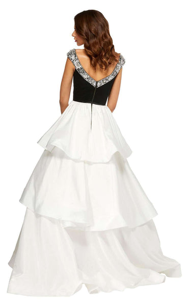 Sherri Hill 52427 Black-Ivory
