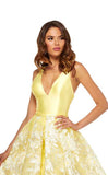 Sherri Hill 52458 Yellow