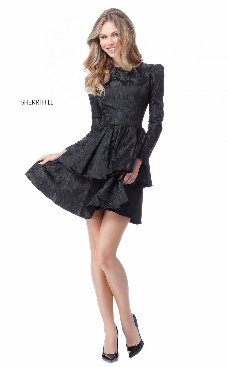 Sherri Hill 50617 Black