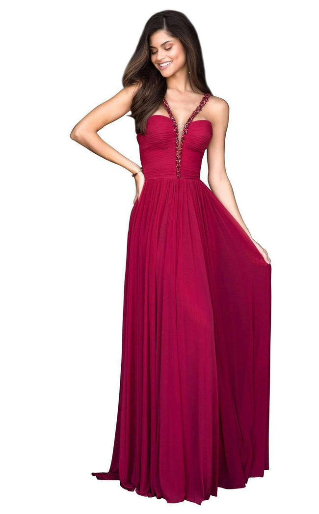 bc7e87624ef Style 51587 from Sherri Hill is a two piece prom gown t